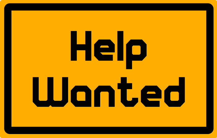 Boyce Excavating - Help wanted sign