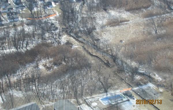 Black Dirt Sewer Line