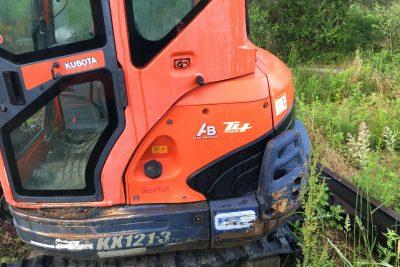 Kubota KX 121 Mini Excavator